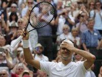 Roger Federer - Wimbledon 2017 - Festejo